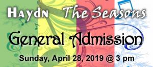 Haydn Seasons General Admission