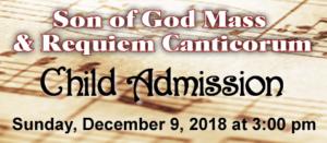 Son of God Child Admission