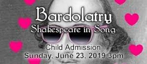 Bardolatry Child Admission