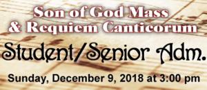Son of God Student Admission